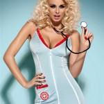 Sexy kostým Doctor dress + stetoskop – Obsessive
