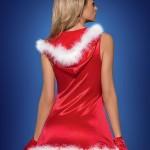 Vánoční kostým Santa´s Lady dress – Obsessive