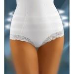 Zeštíhlující a modelující kalhotky Modelia bílé