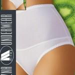 Stahovací kalhotky Iga maxi white