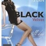 Punčochové kalhoty Egeo Black Velvet 15 DEN
