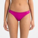 Dámské tanga QF1666E-BXW tmavě růžová – Calvin Klein