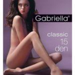 Dámské punčochové kalhoty Gabriella Lycra 15 den 1-4