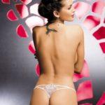 Tanga Luiza thong white – Obsessive