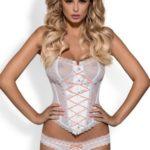 Erotický korzet Melidia corset white