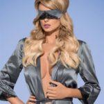 Maska Satinia mask grey – Obsessive
