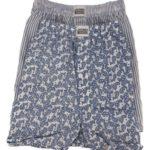 Pánské boxerky 2 pack 315500 modro-bílá – Jockey