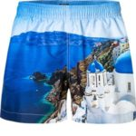 Pánské koupací šortky 61754-457 modrá – Jockey