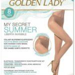 Punčochové kalhoty My Secret Summer 8 den – Golden Lady