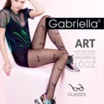 Dámské punčochové kalhoty Gabriella 450 Glasses 5-XL