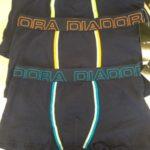 Dětské boxerky Diadora 203S 11/12 Mix