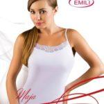 Bílá dámská košilka Emili Maja S-XL