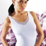 Černá dámská košilka Emili Ailin S-XL