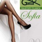Dámské punčochové kalhoty Gatta Sofia 20 den 5-XL, 3-Max