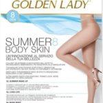Dámské punčochové kalhoty Golden Lady Summer Body Skin 8 den 5-XL