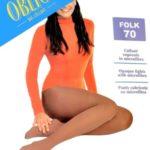 Dámské punčochové kalhoty Oblio Folk 70 den