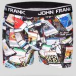 Pánské boxerky John Frank JFBD207