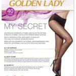 Dámské punčochové kalhoty Golden Lady My Secret 40 den