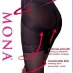 Dámské punčochové kalhoty Mona Push-Up 40 den 5-XL