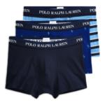 Boxerky 3pcs 714662050037 modrá – Ralph Lauren