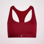 Sportovní podprsenka UW0UW02037-XB8 červená – Tommy Hilfiger