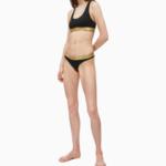 Dámský set QF5668E-BXY černozlatá – Calvin Klein
