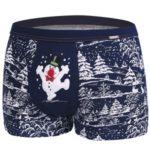 Pánské boxerky Cornette Merry Christmas Snowman