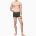 Boxerky NB1565A-FDX khaki – Calvin Klein