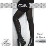 Dámské punčochové kalhoty Flash – Black vz.02 60 den – Gatta