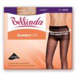 Punčochové kalhoty COMFORT TIGHTS 15 DEN – BELLINDA – bronzová