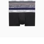 Boxerky 3pcs NB1753A-BGQ modrošedočerná – Calvin Klein