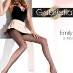 Dámské punčochové kalhoty Gabriella Emily 495 20 den