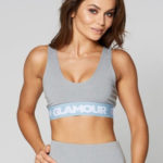 Gym Glamour Podprsenka Grey Basic