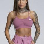 Gym Glamour Podprsenka Simply Dirty Pink