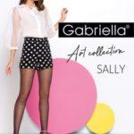 Tenké dámské punčochové kalhoty se vzorem SALLY
