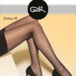 Vzorované dámské punčochové kalhoty DOTSY