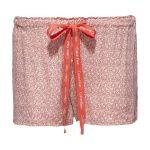 Dámské shorty QS1679E – oranžová – Calvin Klein
