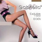 Punčochové kalhoty Exclusive T-Band – Gabriella 10 den