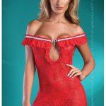 Erotické šaty Mija red