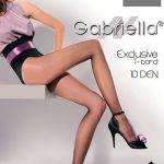 Punčochové kalhoty Exclusive T-Band 101 10 DEN – Gabriella