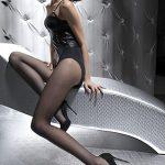 Dámské punčocháče Diana black