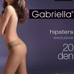 Dámské punčochové kalhoty Gabriella Hipsters exclusive 20 DEN Code 630