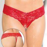 Erotická tanga 2440 red