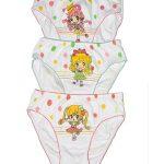 Dětské kalhotky Natural Club 3805 – DC GIRL