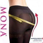 Punčochové kalhoty Mona Micro Push- Up 50 den