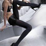 Punčocháče zimní Olga black