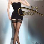 Dámské samodržící punčochy Calze autoreggente Michelle 40 Den- Gatta