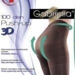 Dámské lycrové punčochové kalhoty Gabriella Medica Push-up 3D 100 DEN Code 171
