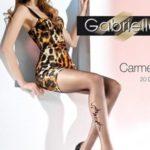 Dámské punčocháče Carmen 369 grey-brown