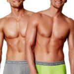 2pack pánských boxerek 34950 graphite-green